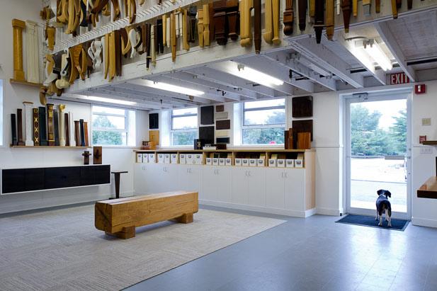 Beth Bourque Design Studio in New England Home, January 2014