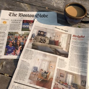 Boston Globe | Beth Bourque Design Studio