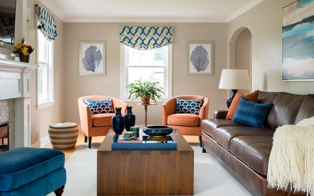 photo of family friendly living room