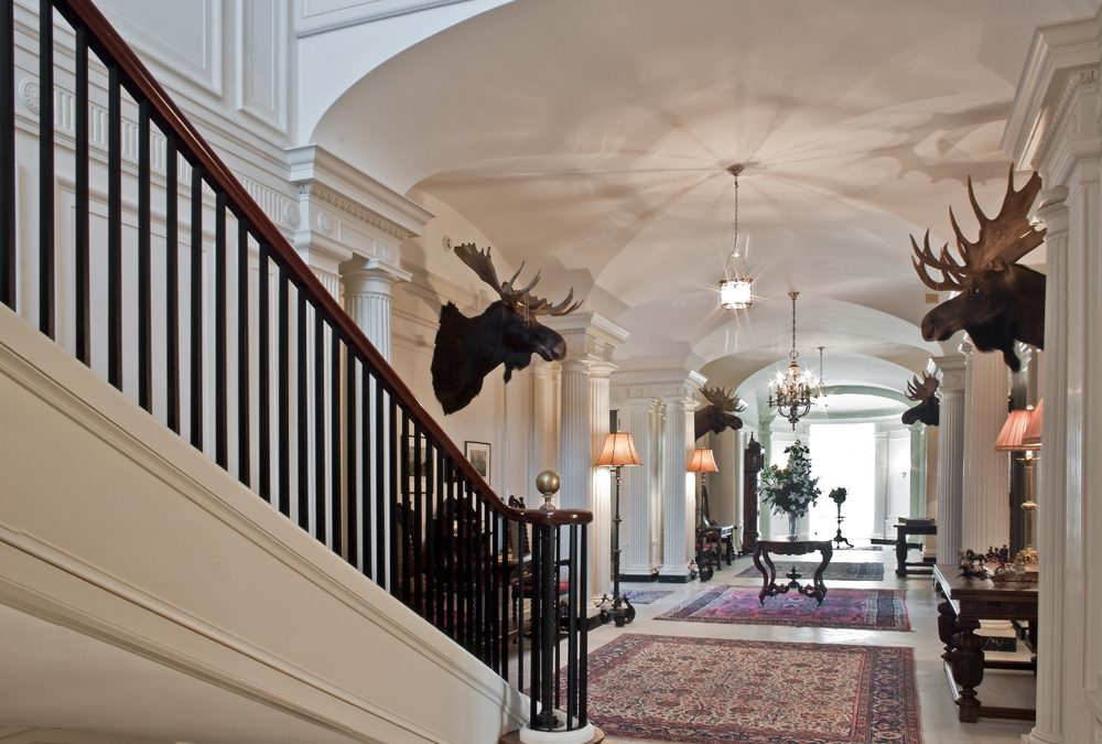 A designer's dream: an estate fit for a king